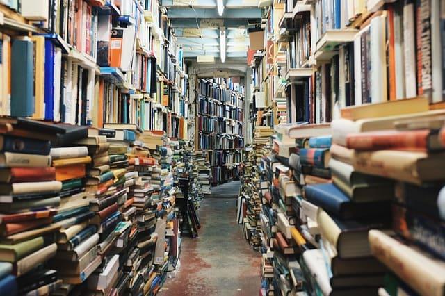 沢山の書物